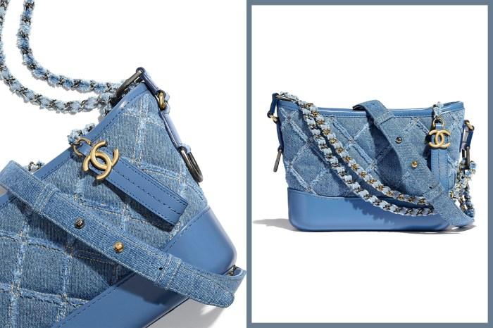 Chanel 2020 春夏預告系列:Gabrielle Hobo 手袋推出牛仔布料,長青百搭設計成必搶款式!