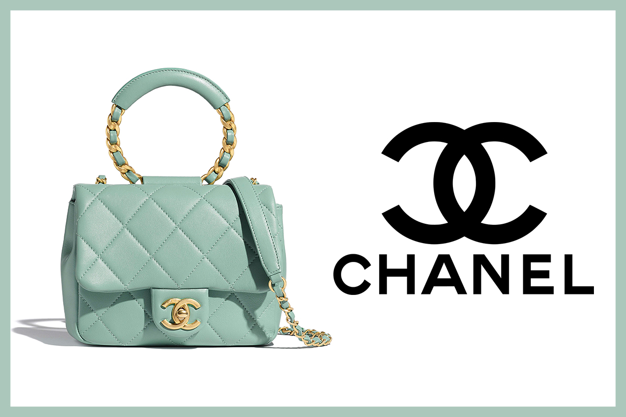 Chanel Celadon/Jade Purse and Wallet