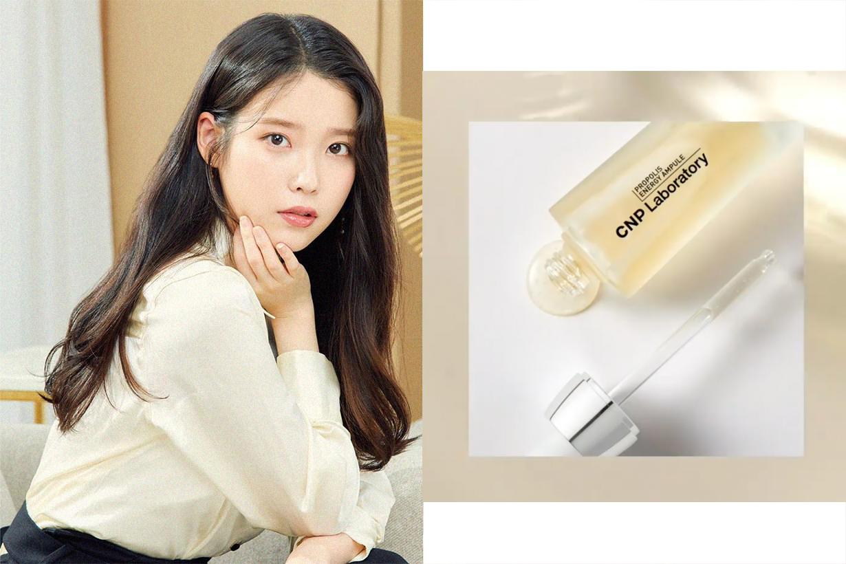 IU Lee Ji Eun CNP Laboratory Propolis Energy Ampule Olive Young Best Seller Essence Serum Korean Skincare