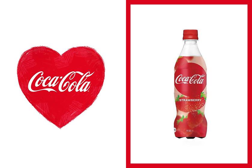 coca cola japan strawberry flavour