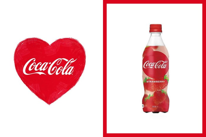 因情人節而生的味道 — 日本推出全新士多啤梨味的可口可樂!