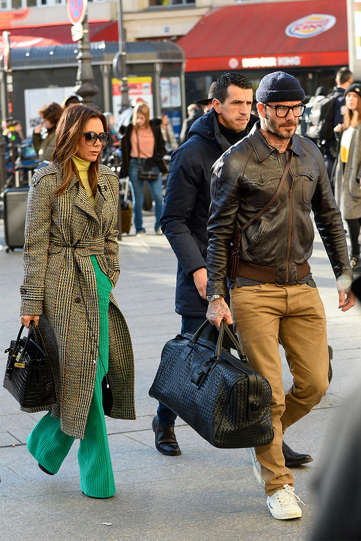 David and Victoria Beckham's Travel Style Is First Class