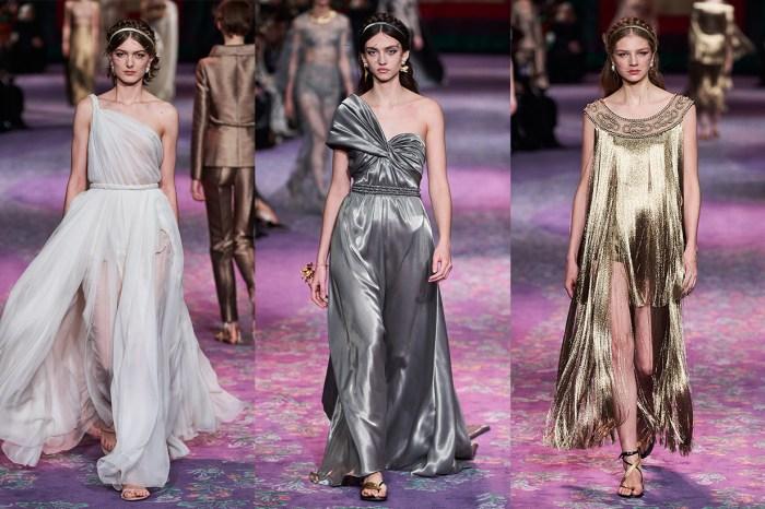 女性統治的世界:Dior 2020 春夏高訂系列,彷如借了古羅馬女神的衣裳!