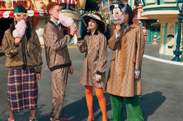 Gucci 與迪士尼合作推出最時尚的米奇系列,引發時裝迷的童真!
