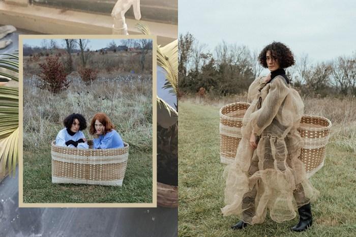淡雅的鄉村詩人:將巨型編織手袋與麻布連身裙帶入時尚界,這位設計新星是誰?