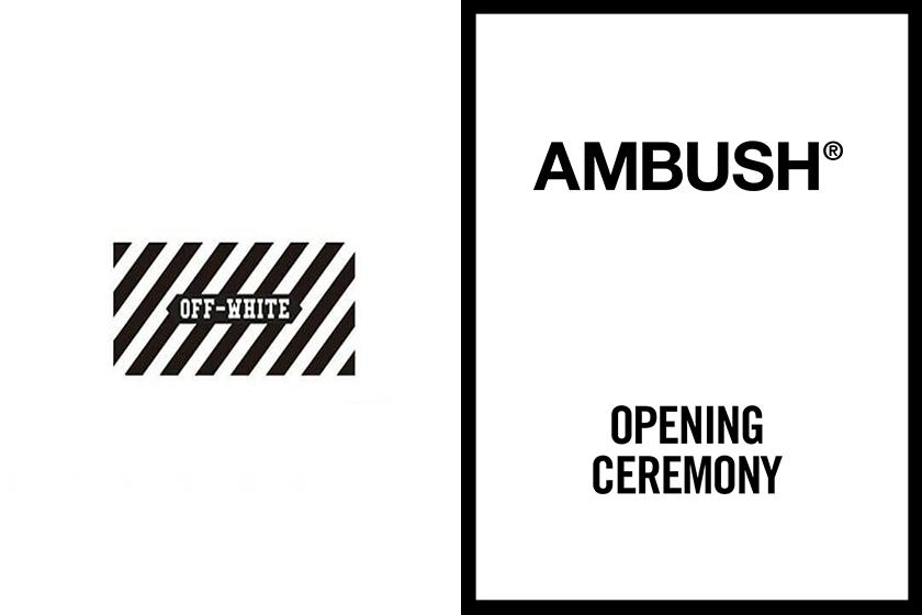 OffWhite purchase AMBUSH Opening Ceremony