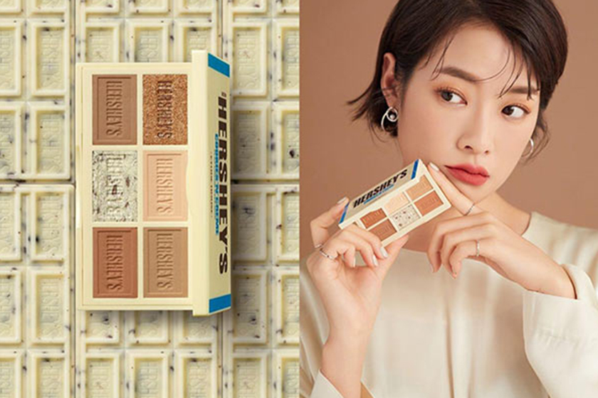 Etude house x HERSHEY'S make up collection