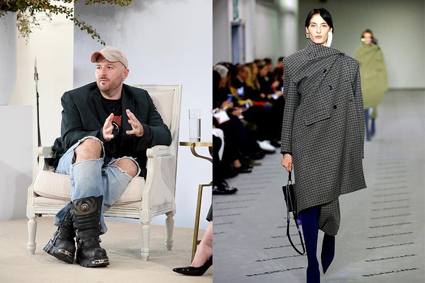 balenciaga haute couture demna gvasalia returns debut collection