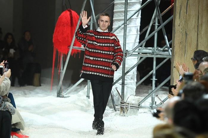 在離開 Calvin Klein 後,Raf Simons 傳出下一步即將前往 Prada?