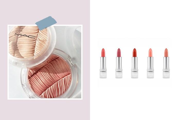 簡約包裝: M.A.C. 全新透明彩妝系列,以裸色系打造出清新高質感的春季妝容!