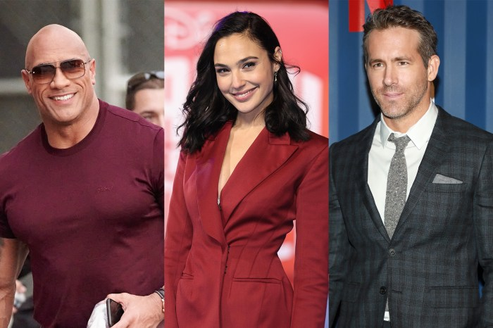 地表最強:The Rock x Gal Gadot x Ryan Reynolds 打造 Netflix 最貴動作喜劇《Red Notice》!