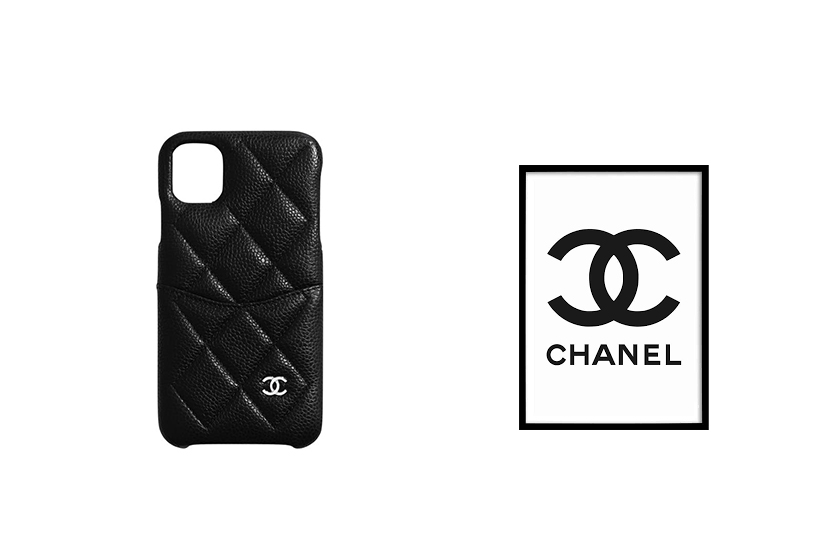 chanel classic iphone11pro case