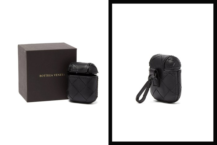 Bottega Veneta推出全黑率性 AirPods Case,完美移植標誌極簡編織設計!