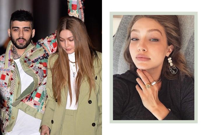 西裝不一定銳利強勢,看看 Gigi Hadid 的約會穿搭就知道!