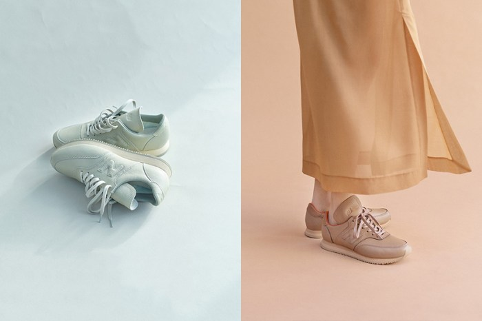 極簡美學:日本小眾品牌重新設計 New Balance 經典波鞋,一抹簡約柔和的奶茶色調!