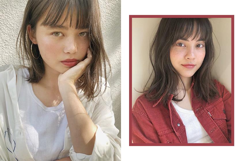 hairstyle hair bang cut tips diy korean hairstylist
