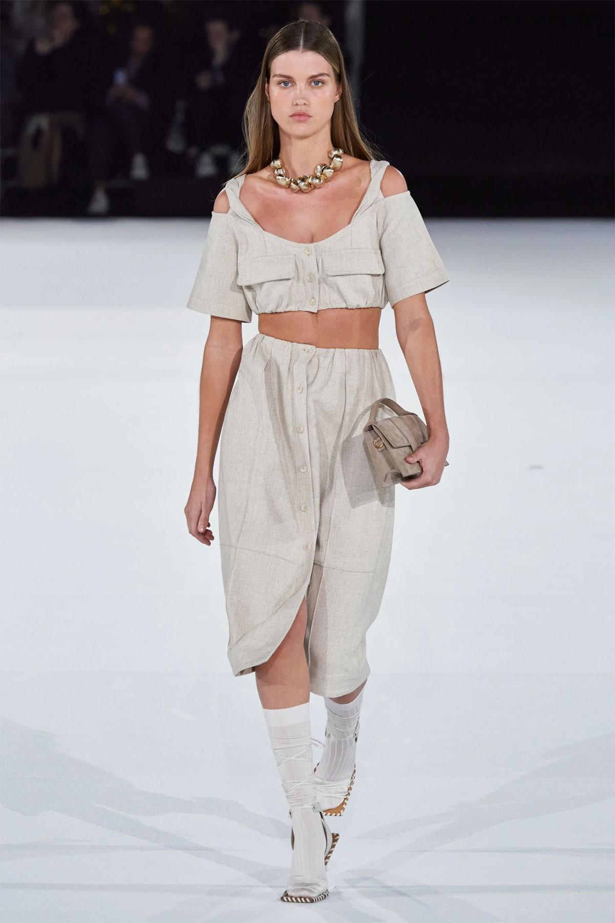 jacquemus simon porte fall winter show Paris fashion week womens mens collection
