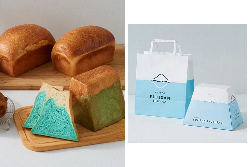 japan Mount Fuji toast FUJISAN SHOKUPAN