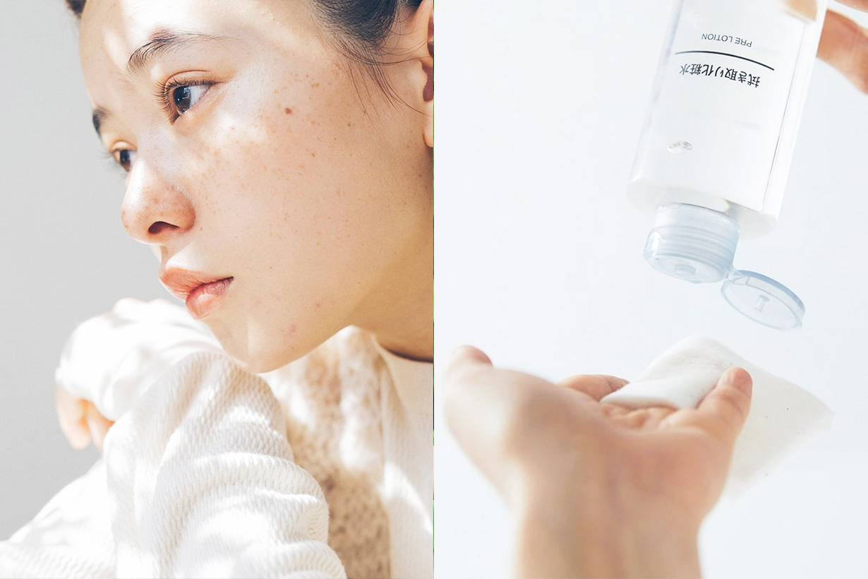 Muji Japan Japanese Girls Cosmetics Skincare cleansing cotton buds teeth wipes Portable fabric mist