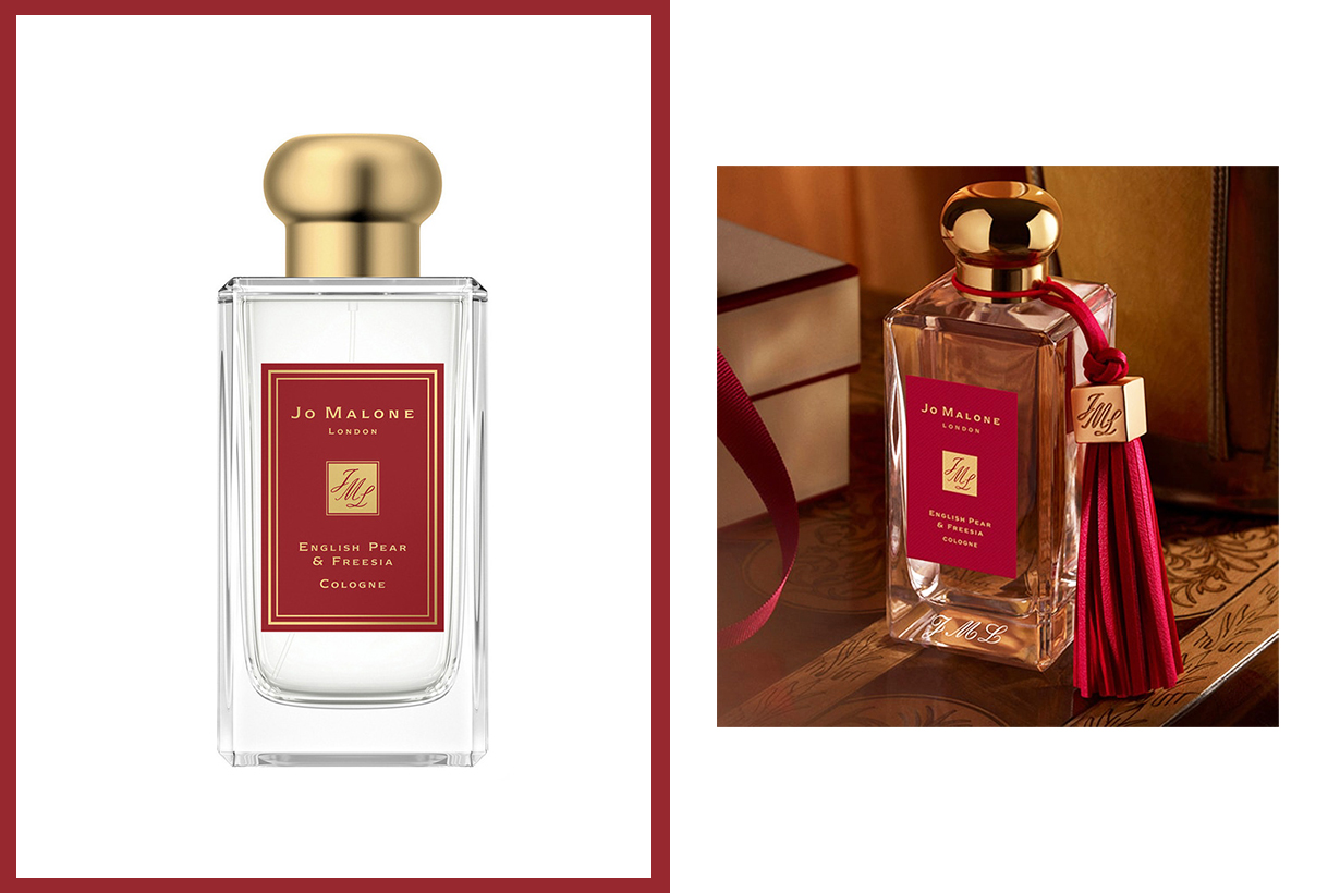 Jo Malone London English Pear & Freesia Cologne Perfume Fragrances 2020 Chinese New Year Limited Edition packaging