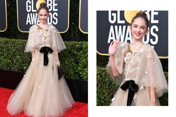 在紅地毯上彷若童話公主,這位漂亮又會穿的 10 歲女生到底是誰?