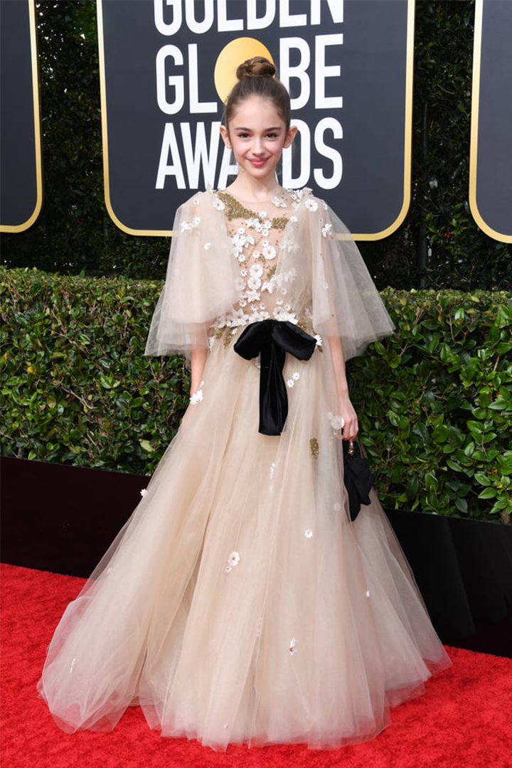 Julia Butters Looked Truly Magical at Her First-Ever Golden Globes
