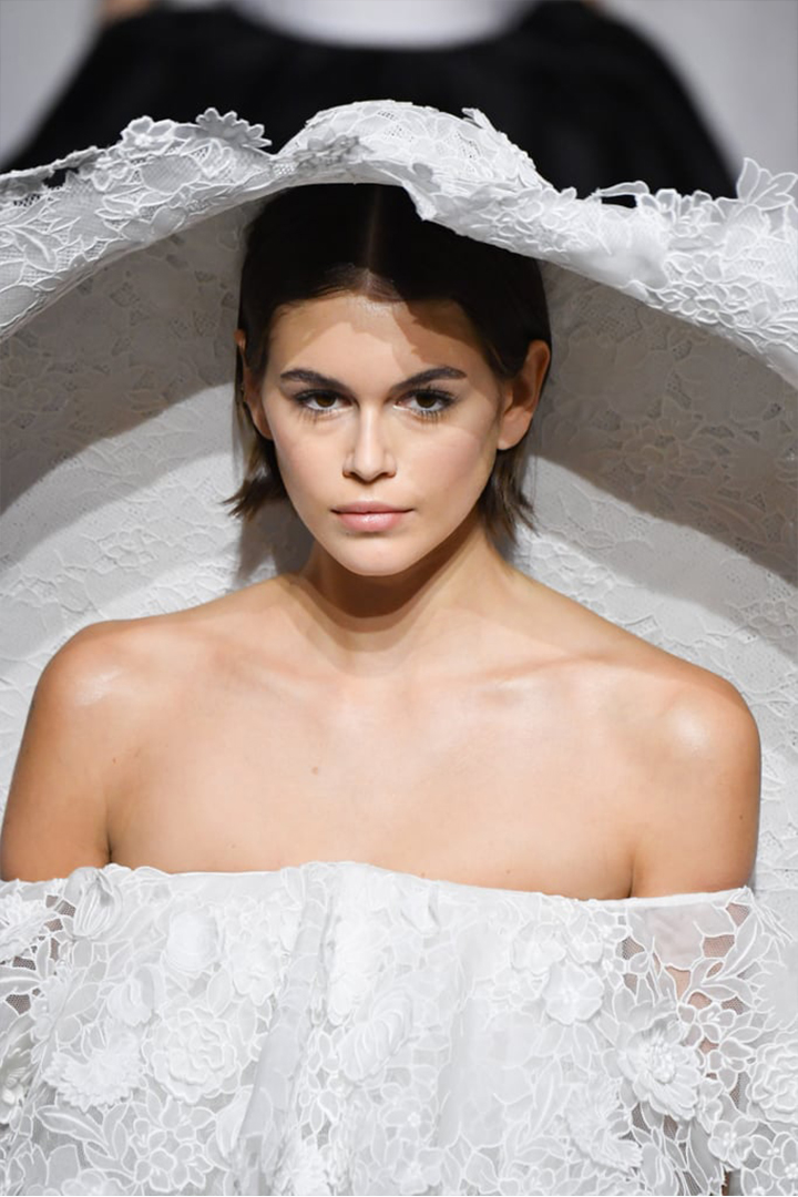 Kaia Gerber's Givenchy Couture Wedding Dress