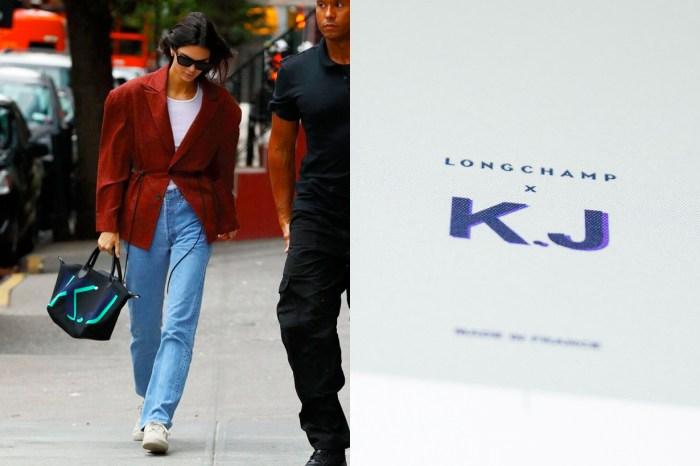 Kendall 這顆手袋並非明星專屬:Longchamp 全新服務上線,每個人都能客製化姓名縮寫!