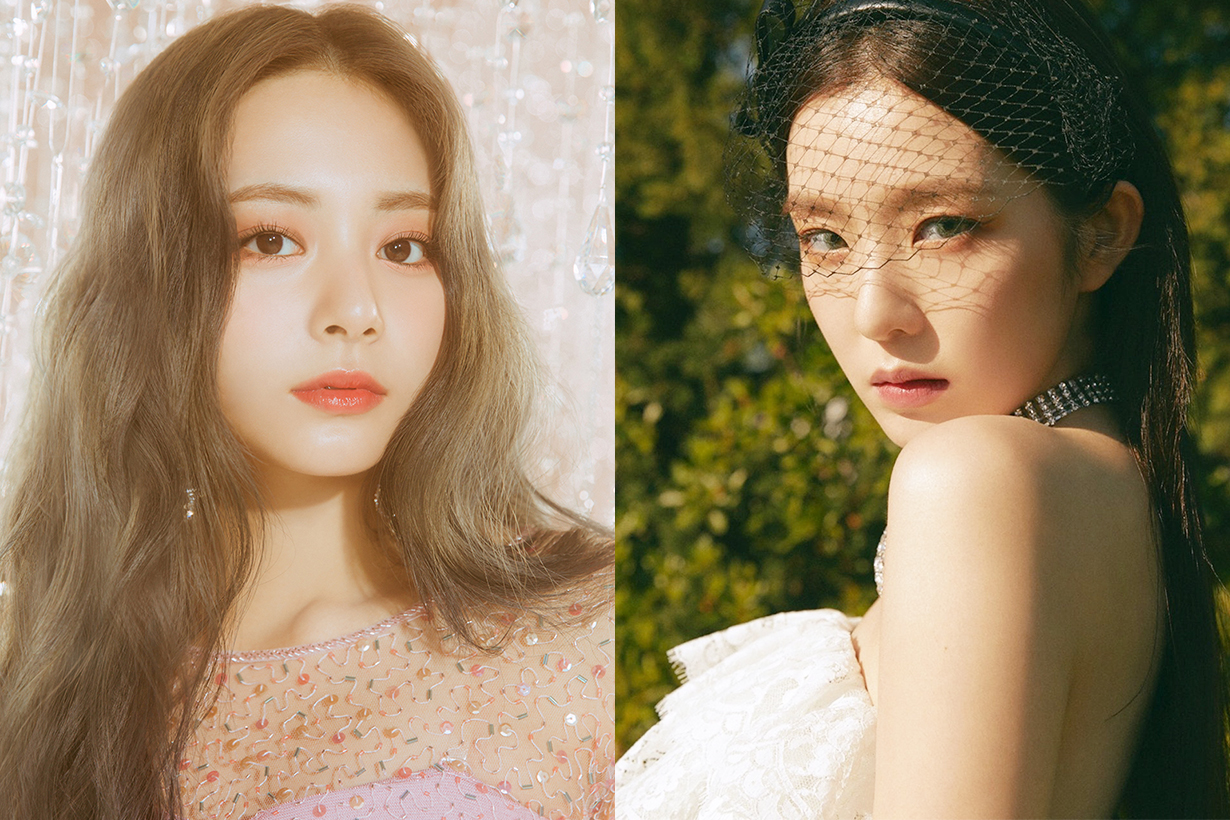 Korean idols voting Most Beautiful Idols Girl's Generation Taeyeon Twice (G)I-DLE Mi Yeon Tzuyu Red Velvet Irene Yoona k pop korean idols celebrities singers girl bands