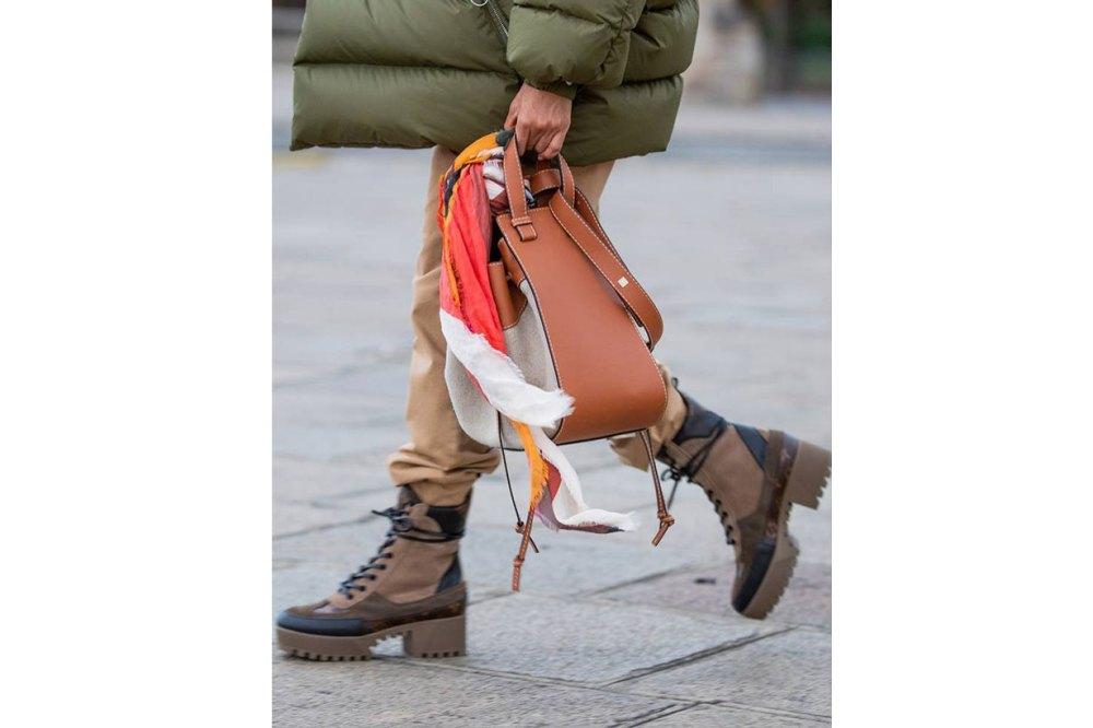 Louis Vuitton Boots Street Style