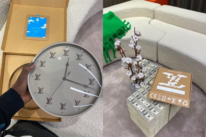 Louis Vuitton 的限量時鐘在網上引起話題,想要還沒得買!