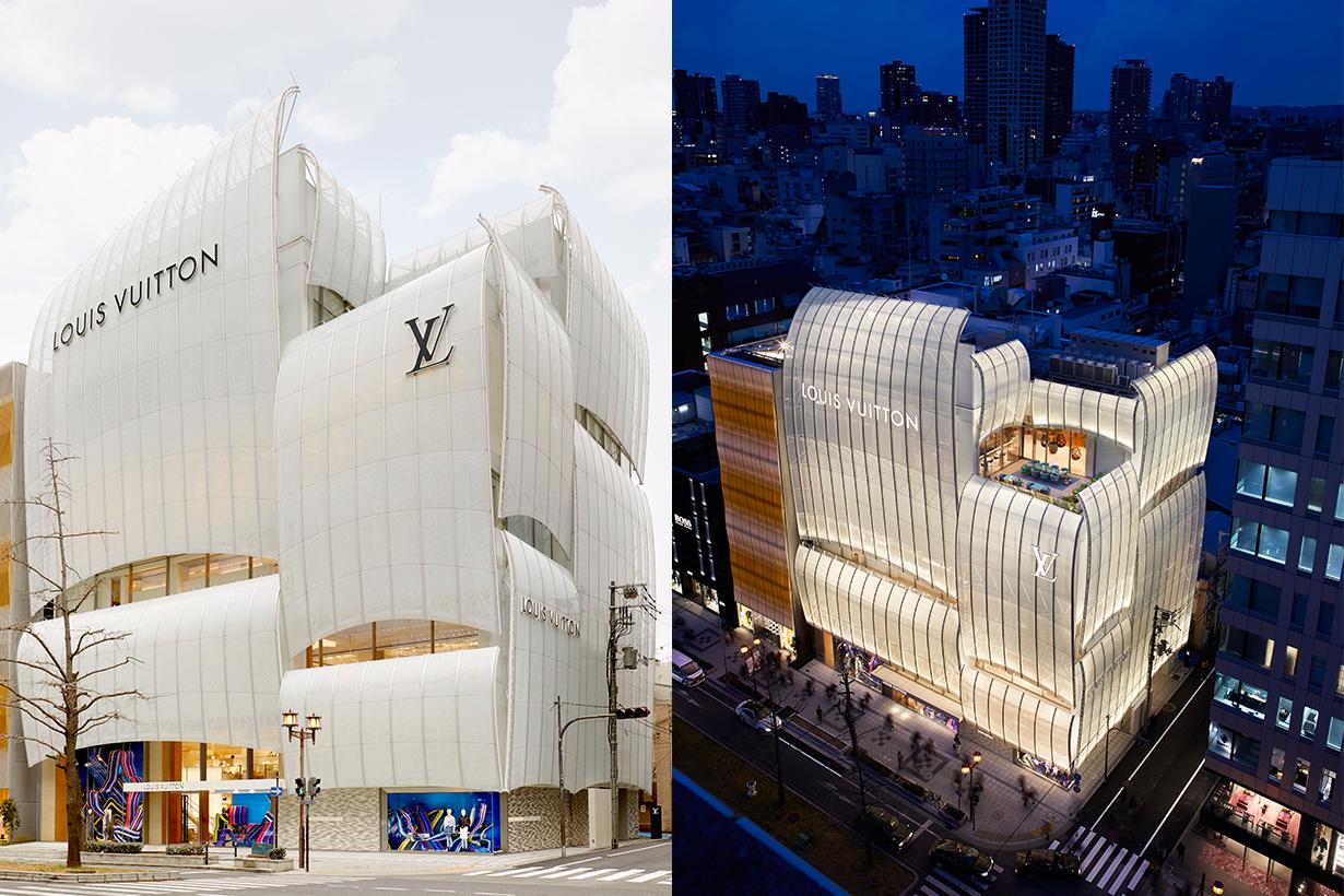 Louis Vuitton Maison Osaka Midosuji Le Café V Sugalabo V flagship