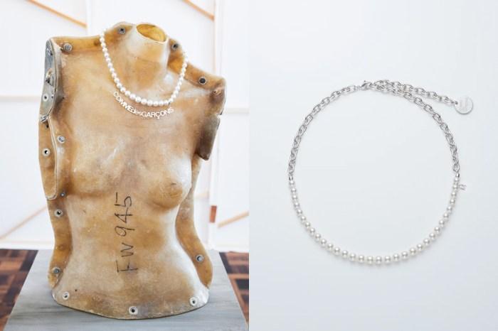 奢華的聯乘:CDG 攜手 Mikimoto 推出珍珠項鍊,最高一條 $40,000 美金!