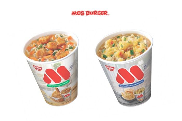 第一批全售罄!MOS Burger 推出杯麵,還是當家人氣的炸雞、海洋珍珠堡口味!