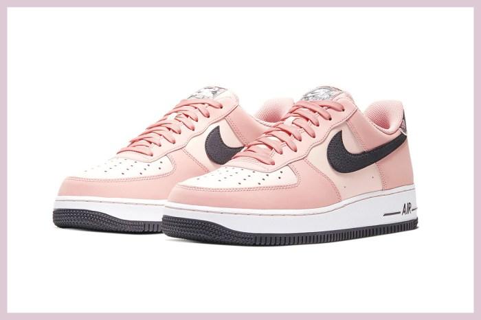 率先一睹 Nike 限量版 Air Force 1 '07,粉紅櫻花設計完全喚醒浪漫少女心!