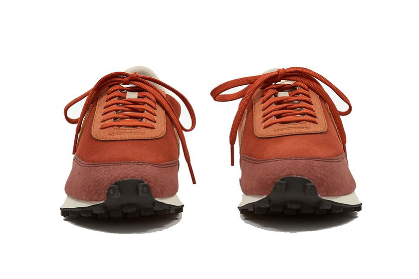 nike daybreak orange pueblo brown vintage style