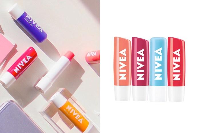 站上票選第一名寶座,Nivea 這款潤色護唇膏只有韓國才有!