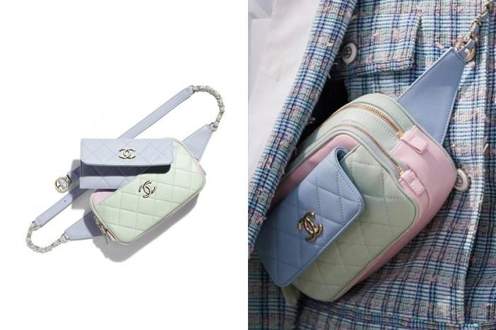 Chanel 推出夢幻馬卡龍色腰包,娓娓道來一種低飽和的柔嫩浪漫!