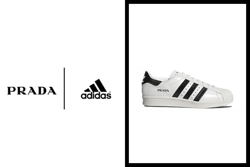 prada for adidas superstar new color mays sell in march