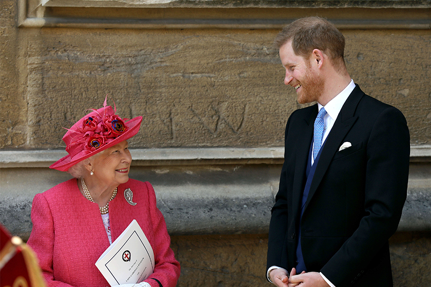queen elizabeth statement prince harry meghan markle decision to step back