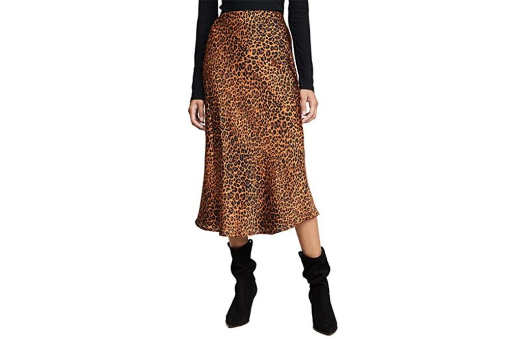 re:named Slip Midi Skirt