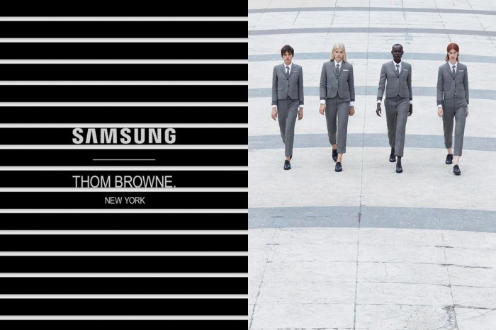 Thom Browne 下個合作對象讓你異想不到,將和 Samsung 推出新 Galaxy 手機?