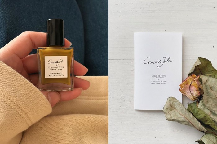 沈穩的氣質美:小眾美甲品牌 Causette joli,藏著一抹日系清新與法式優雅!