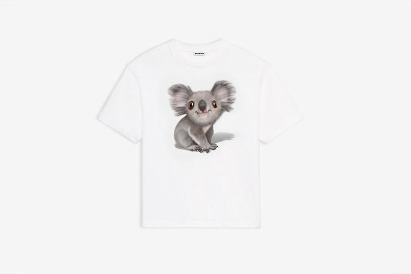 australia fire bushfire relief donation fashion balenciaga koala hoodie t shirt
