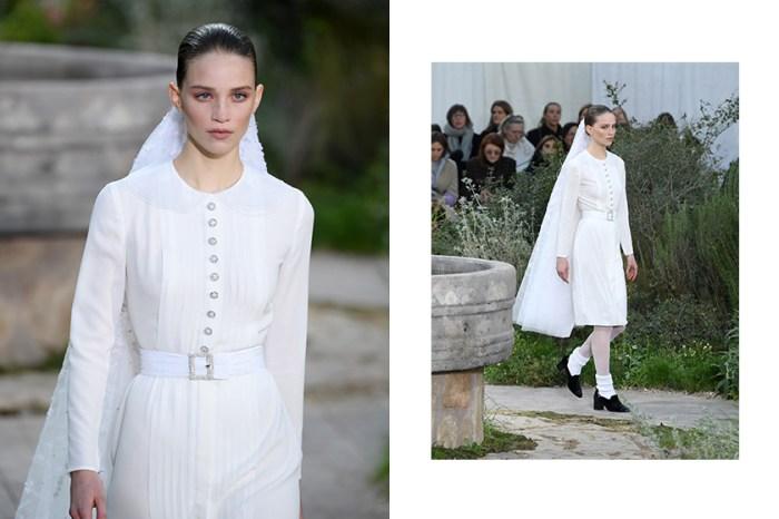 #PFW:Chanel 高訂時裝大秀上的這件婚紗,以現代摩登設計給予新娘重新定義!