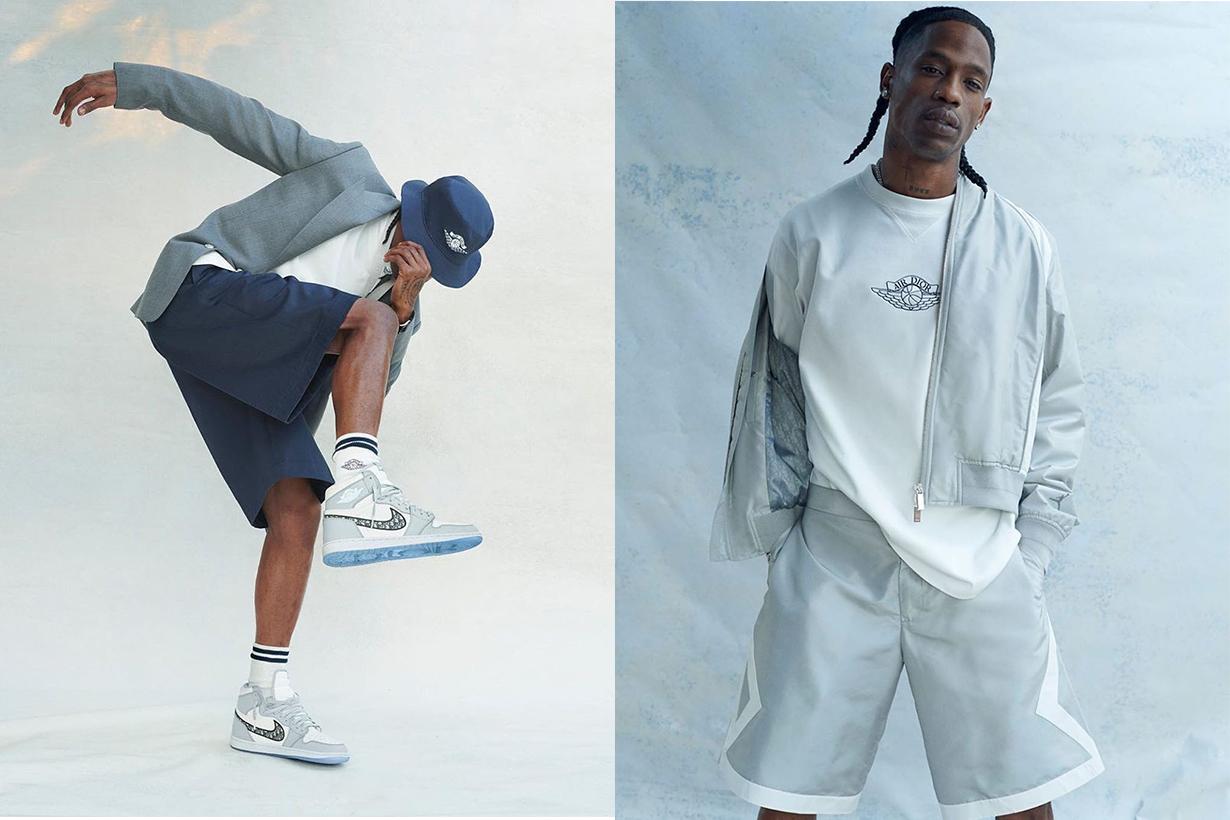 dior x Jordan brand Travis Scott campaign 2020