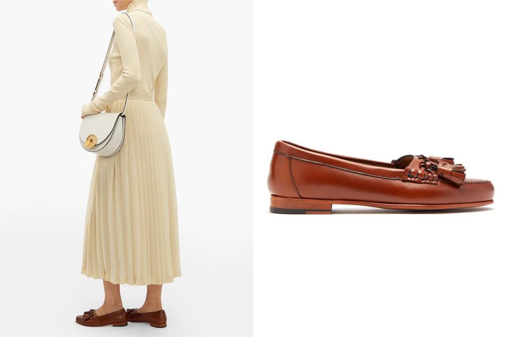 Sierre tasselled leather loafers