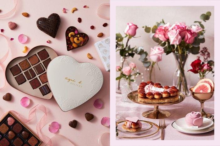 agnès b. CAFÉ & FLEURISTE 呈獻的法式浪漫,讓妳更期待今年的情人節!