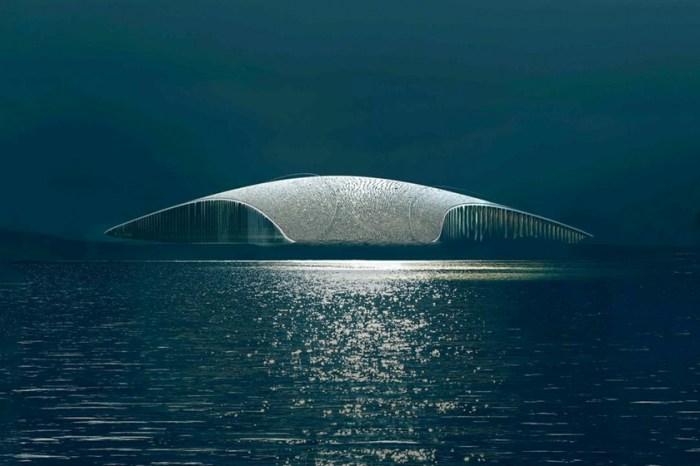 將稍縱即逝的美景盡收眼底,座落於挪威最北端小鎮的全新賞鯨地標「The Whale」