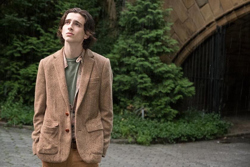 A Rainy Day in New York Timothée Chalamet Elle Fanning